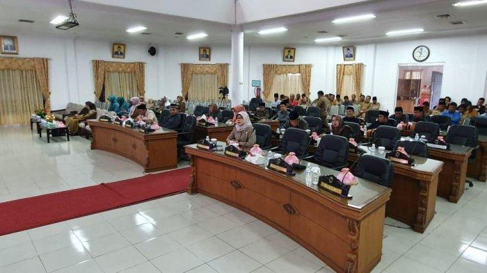 2 Kali Paripurna di DPRD Batanghari, Anggota Dewan Tampak Sepi, Ketua DPRD Bantah Anggota DPRD Malas