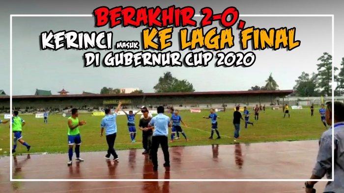 BREAKING NEWS Kota Jambi vs Merangin Sore Ini, Siapa Lawan Kerinci di Final?