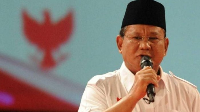 Peserta Bedah Buku Teriak 'Ganti Presiden', Prabowo: Orang Sabar Itu Disayang Allah