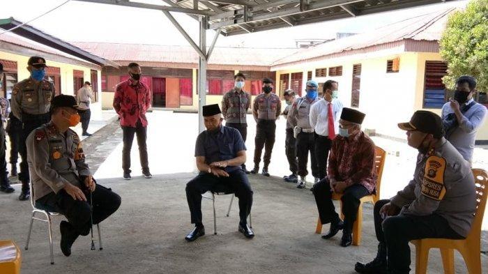 Bupati dan Wakil Bupati Kerinci Dampingi Kunker Kapolda Jambi di Kerinci