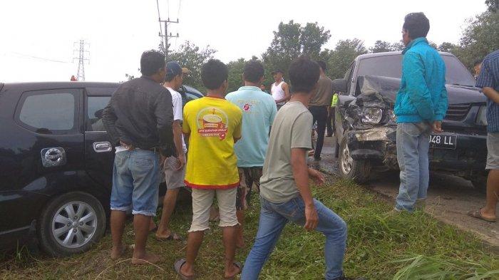 Avanza Vs Kuda Bertabrakan di Ruas Jalan Jambi-Muara Sabak, Kerugian Ditaksir Rp 25 Juta