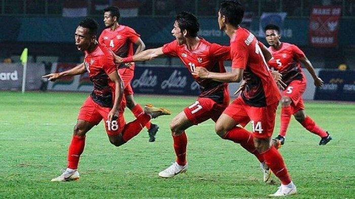 Sedang Berlangsung - Live Streaming Timnas U-23 Indonesia Vs UEA, Skor 0-1