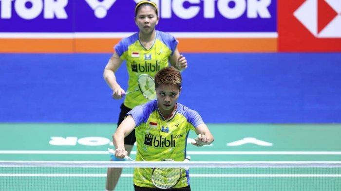 Hasil Final Badminton SEA Games 2019, Geysia/Apriyani Sumbang Medali Emas, Menang Mudah Dua Set