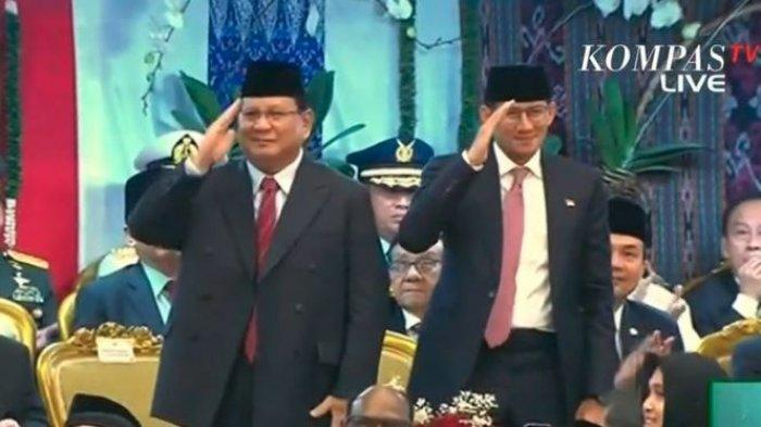 Angin Segar Bagi Prabowo, Sandiaga Ngaku Tidak Akan Maju Pilpres 2024 Padahal Dipuji Presiden Jokowi