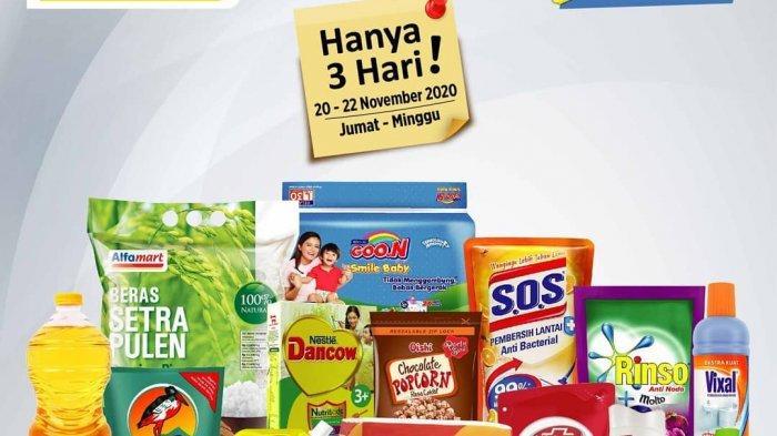 Ramai Promo Di Alfamart Hingga 30 November 2020, Promo Wall's JSM Hajatan Gopay Murmer PSM H2C DLL
