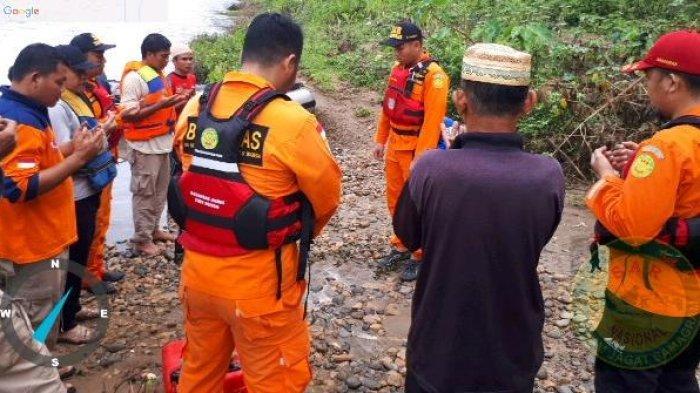 Abdullah Sani Hanyut di Sungai Batang Tebo, Tim Gabungan Kesulitan Mencari Akibat Arus Deras & Keruh