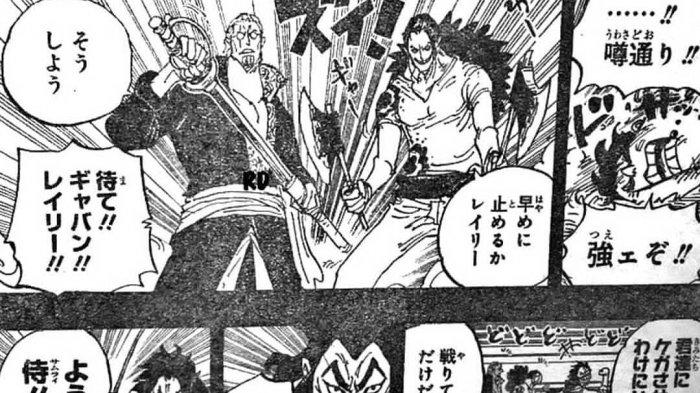 One Piece Chapter 966 - Roger & Whitebeard, Bertarung dan Berpesta, Oden Bergabung dengan Roger