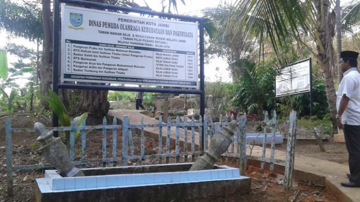 Ada Makam Raja Kesultanan Melayu Jambi di TPU Putri Ayu