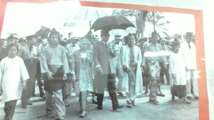 Di Jambi, Soekarno Pimpin Rapat Raksasa