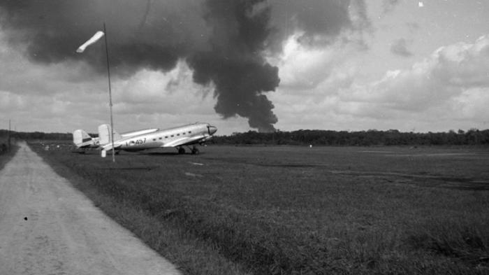 Pernah Lihat Bandara Sultan Thaha Zaman Dulu, Ini Fotonya