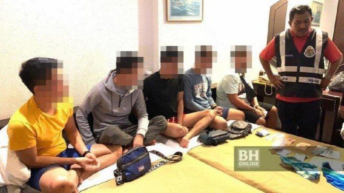 Lima Pria Muda Indonesia Jadi Gigolo di Malaysia, Ditangkap Imigrasi di Hotel Tanpa Busana