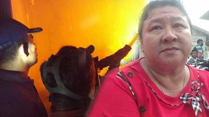 Kisah Erda Lolos dari Maut Saat Kebakaran 4 Ruko dan 3 Rumah di Mayang Mangurai Kota Jambi