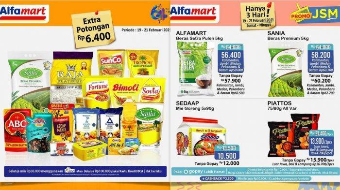 Promo Alfamart Hari Ini 20 Februari 2021, Beras 5 kg Rp 57.900, Minyak Goreng 2 L Rp 25.900, DLL