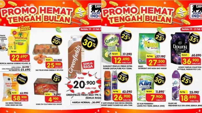 Promo Superindo Terbaru 23 Februari 2021, Promo Minyak Goreng Buah-buahan Telur Sosis