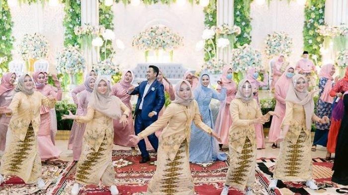 VIRAL Video Menari Flashmob di Pernikahan, Sanggar Tasek Seminai Buat Momen Pengantin Jadi Berkesan