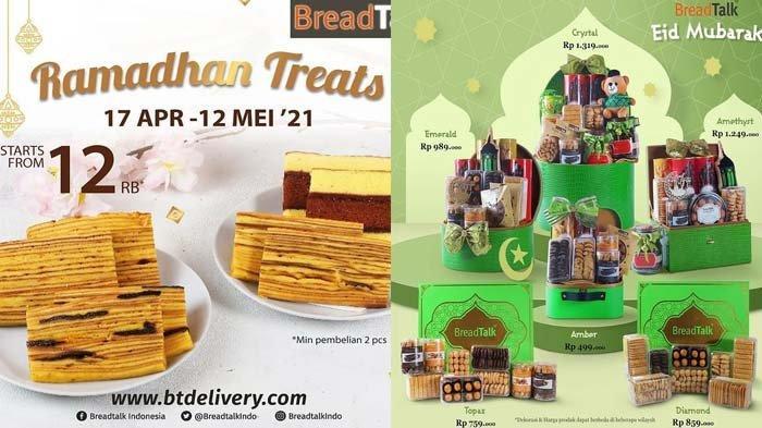 Promo BreadTalk di Bulan Ramadhan 2021 Aneka Slice Lapis Dari Rp12Ribu Rangkaian Hampers BreadTalk