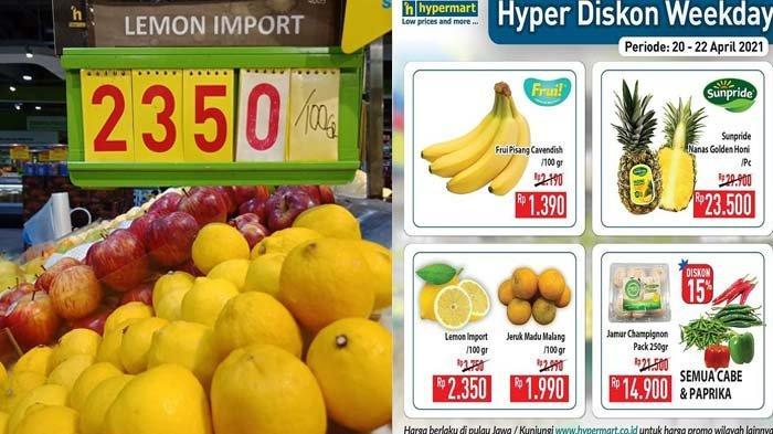 Promo Hypermart Terbaru 20 April 2021 Mie Goreng Rp93.450 per Karton Pisang Cavendish Rp1.390 DLL