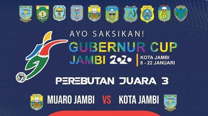 BREAKINGNEWS - Perebutan Juara 3 Gubernur Cup Jambi 2020 Muaro Jambi vs Kota Jambi, Siapa Menang?