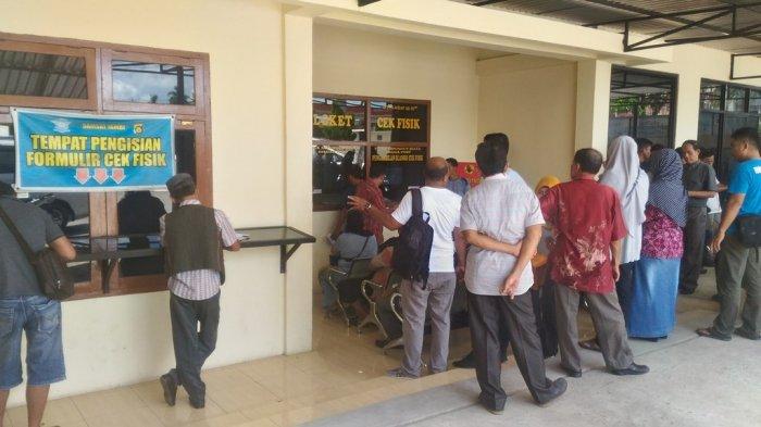Hari Pertama Kerja, Kantor Samsat Jambi 'Diserbu' Warga