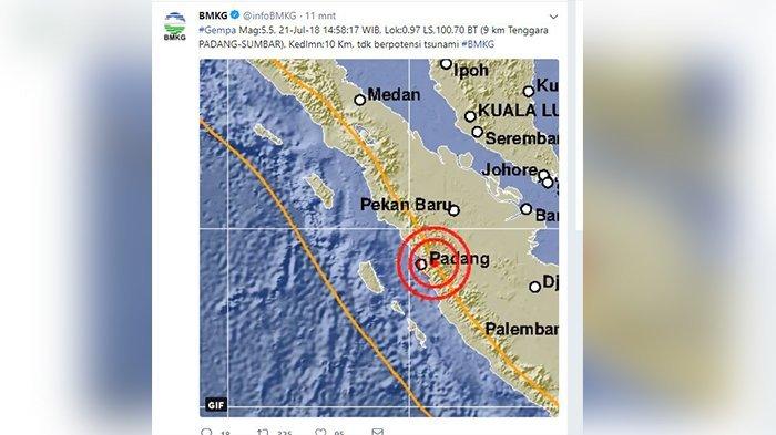 Gempa Padang - Begini Suasana Plaza Andalas Usai Guncangan,Gempa Juga Terjadi Sabtu Dini Hari
