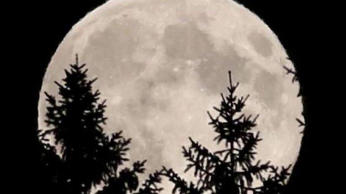 Terjadi Malam ini di Indonesia, Fenomena Langit Bulan Purnama Salju, Apa itu? Begini Penjelasannya