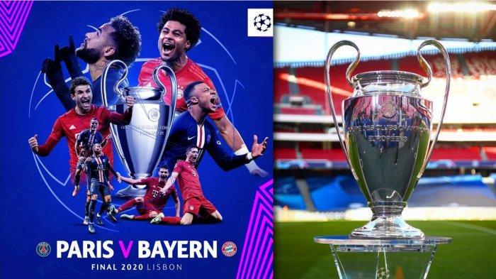 Jadwal Final Liga Champions, Live Streaming, Prediksi Skor - Siapa Buktikan Juara? PSG atau Munchen?