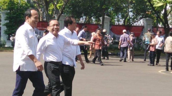 Daftar Lengkap Nama-nama Calon Menteri yang Sudah Dipanggil Jokowi ke Istana, Ada Nama Baru dan Lama
