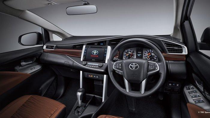 Tampilan interior khusus untuk Luxury Grade