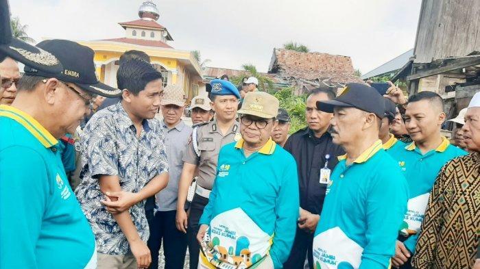 Rombongan Gubernur Jambi Dicegat Pemuda Sarolangun Saat Tinjau Kampung Budaya, Ini yang Diminta
