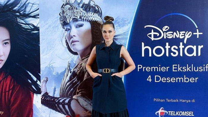 Luna Maya pengisi suara Xian Lang bahasa Indonesia