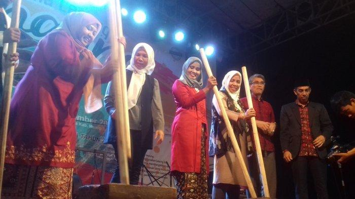 Pesona Lesung di Festival Kampung Senaung 2019, Hiburan Tahunan Warga di Muarojambi