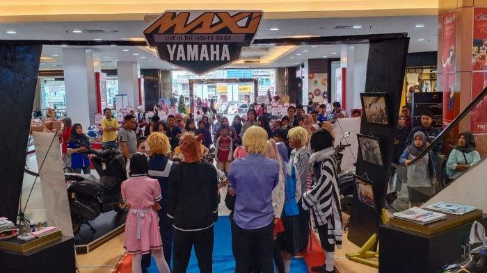 Yamaha Maxi Exhibition 2019 Diramaikan Cosplay dan Music Performance