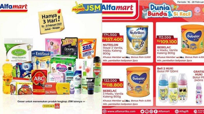 Promo Alfamart Hari Ini 21 Februari 2021 Diskon Kebutuhan Dapur Susu Sampo Deterjen Diapers Rp53.900