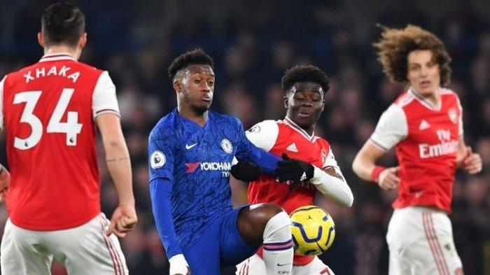 Hasil Liga Inggris Tadi Malam - Man City Menang, Arsenal dan Chelsea Berbagi Poin