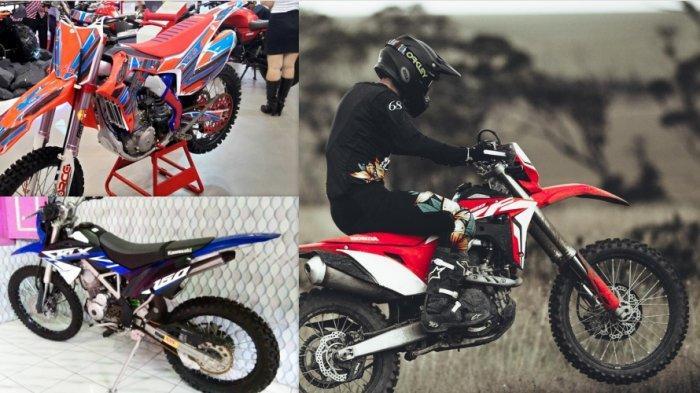 Motor trail Honda CRF, Viar Cross X dan Kawasaki KLX