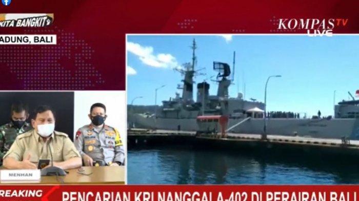 Pencarian kapal selam KRI Nanggala 402