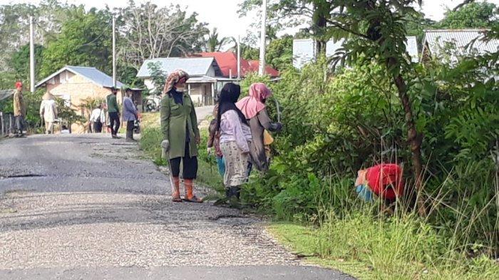 Perkuat Ekonomi di Tengah Pandemi, Tiga Desa di Kecamatan Limun Lakukan Program PKT Tebas Bayang