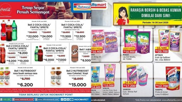 Promo Alfamart & Indomaret hingga 30 Juni 2020 - Produk Susu, Snack, Kebutuhan Rumah, Perawatan