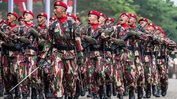 RIBUAN Anggota Kopassus Lepas BaretMerah, Tak Memenuhi Syarat, Ada yang Menangis & Lepas Tembakan