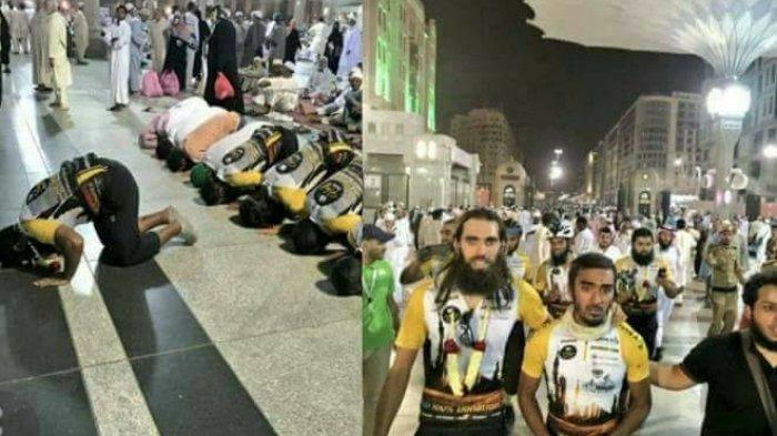 GALERI FOTO: Rombongan Haji Bersepeda dari Inggris sudah Sampai di Madinah