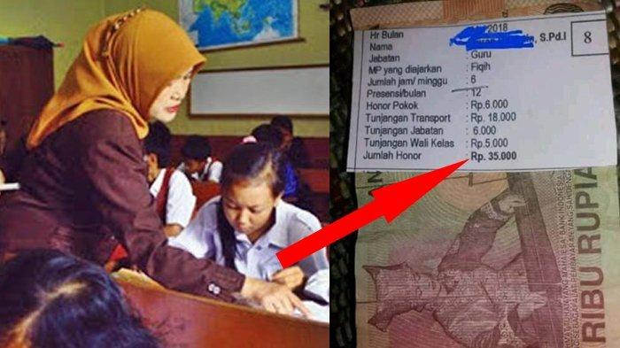 Belum Ada Kejelasan, 4 Bulan Tunjangan Guru SMA/SMK Belum Dibayarkan