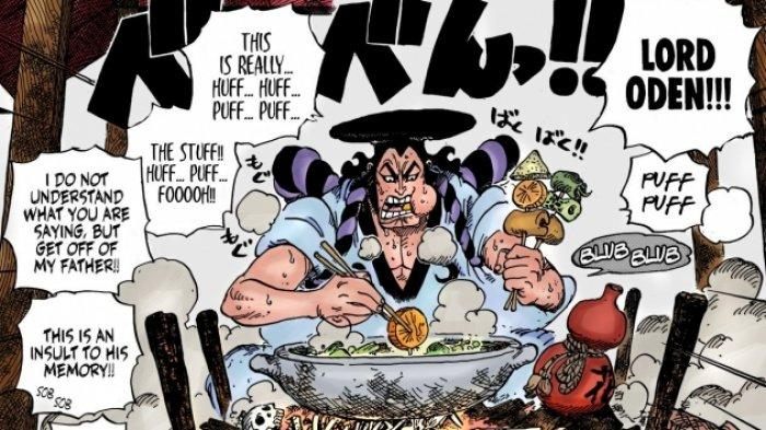 Oden di manga One Piece