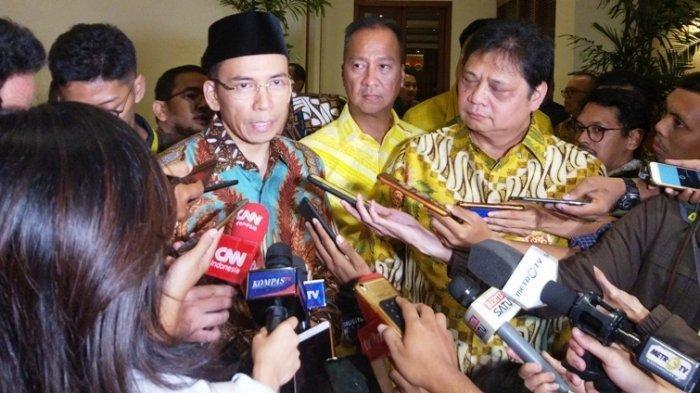 Tanggapan Tuan Guru Bajang (TGB) Zainul Madji Soal Prabowo Subianto Suka Marah-Marah Dan Gebrak Meja