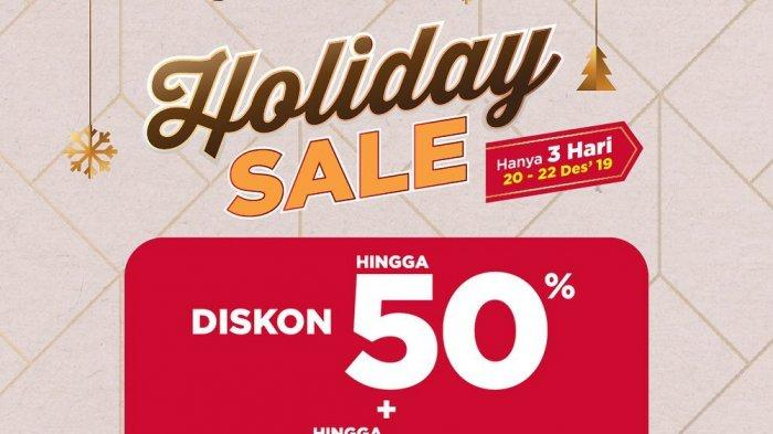 Holiday Sale 20-22 Desember 2019 di ACE Hardware - Diskon hingga 50 Persen Plus Cashback Rp 200 Ribu