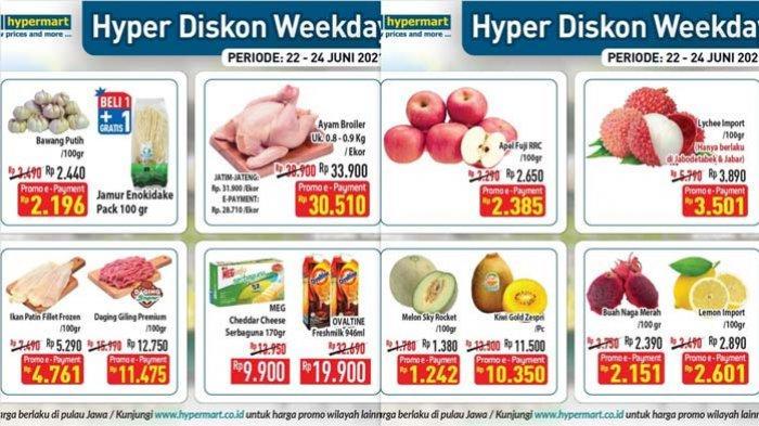 Promo Hypermart Terbaru 22 Juni 2021 Promo Bawang Putih Rp2.196 per 100 gram Beli 1 Gratis 1