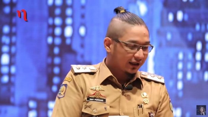 Pasha Ungu saat menjadi Wakil Walikota Palu (Youtube/Najwa Shihab)