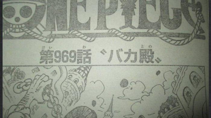 Spoiler One Piece Chapter 969 Raw Image Orochi Menangkap Kozuki? Ada Peramal yang Berubah Jadi Oden?