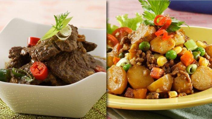 Selain Rendang, 5 Resep Daging untuk Sahur Puasa Ramadhan - Tumis Daging Kentang, Daging Kari Kecap