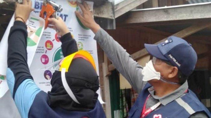 Ikut Perangi Covid-19, PMI di Jambi Lakukan Penyemprotan Disinfektan Lebih 600 Titik di Kota Jambi