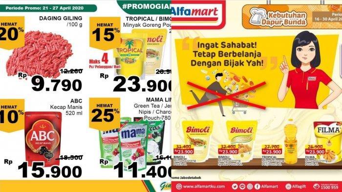 Promo Alfamart, Indomart & Giant Berlaku hingga 30 April 2020 - Ayam, Daging, Udang, Minyak Goreng